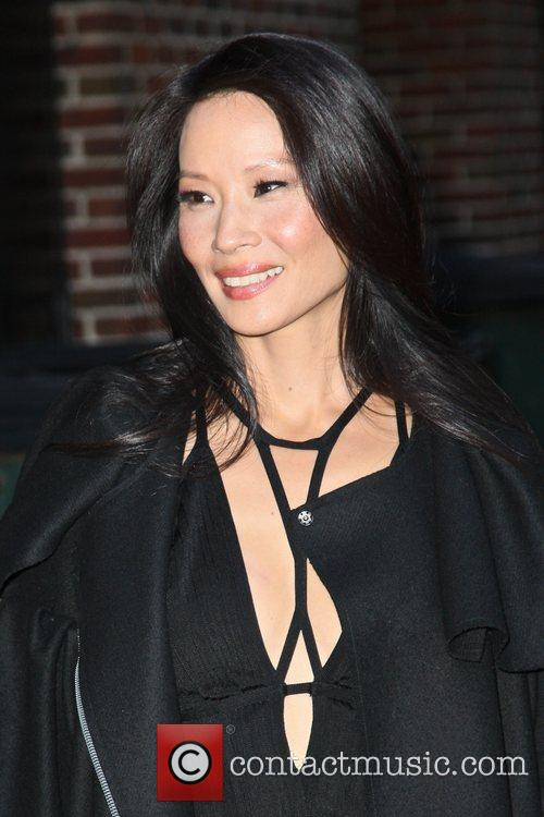 Lucy Liu and Ed Sullivan Theatre 2