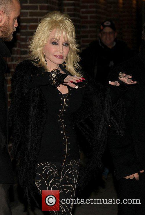 dolly parton the late show with david 3678561
