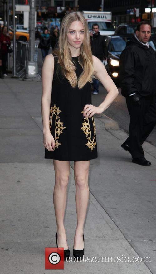 Amanda Seyfried, Ed Sullivan, The Late Show and David Letterman 9