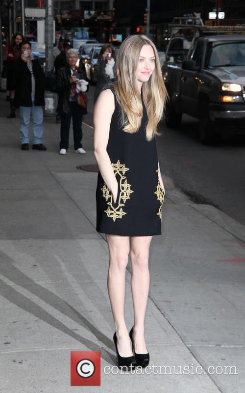 Amanda Seyfried, Ed Sullivan, The Late Show and David Letterman 8