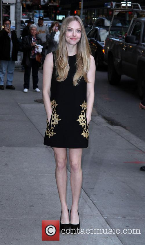 Amanda Seyfried, Ed Sullivan, The Late Show and David Letterman 10