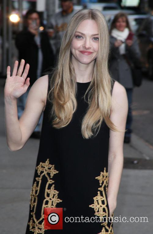 Amanda Seyfried, Ed Sullivan, The Late Show and David Letterman 11