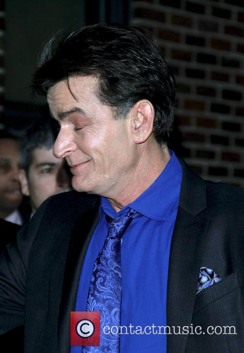 charlie sheen celebrities at the ed sullivan 20062035