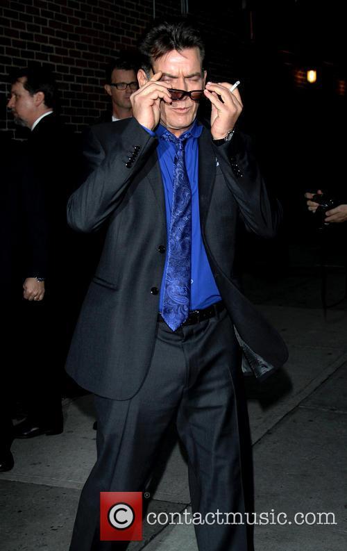 charlie sheen celebrities at the ed sullivan 20062038