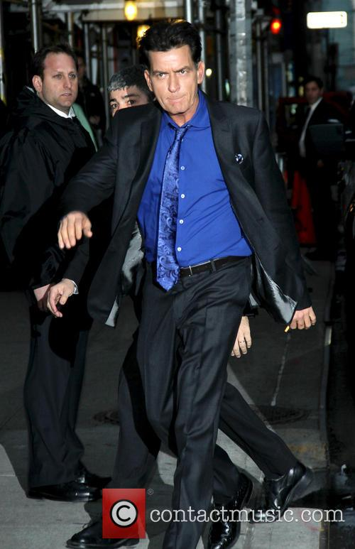 charlie sheen celebrities at the ed sullivan 20062042