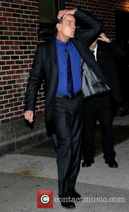 charlie sheen celebrities at the ed sullivan 20062051