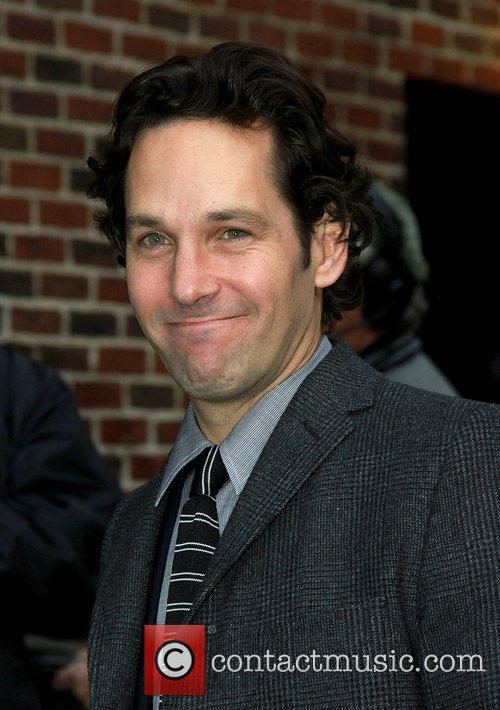 Paul Rudd 'The Late Show with David Letterman'...