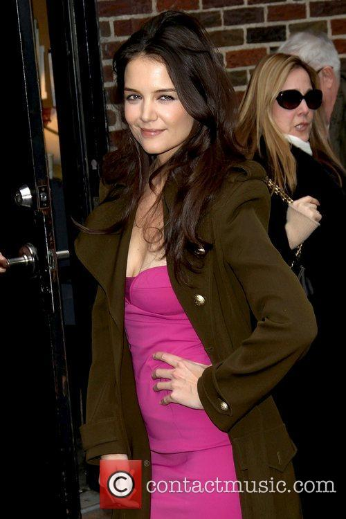 Katie Holmes 'The Late Show with David Letterman'...