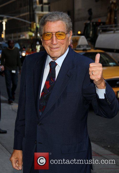 Tony Bennett Celebrities at the Ed Sullivan Theater...