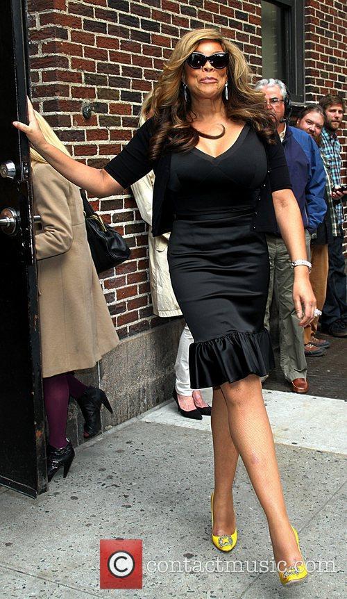 Wendy Williams Celebrities arrive at The Ed Sullivan...