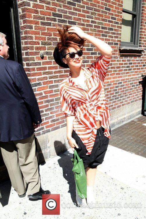Eva Simms 'The Late Show with David Letterman'...