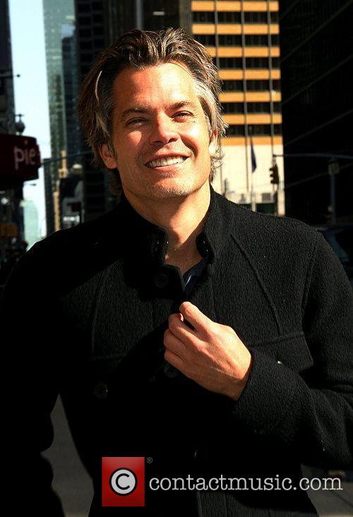 Timothy Olyphant Celebrities arrive at The Ed Sullivan...