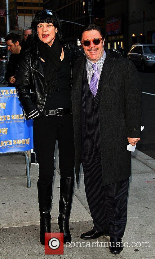 Pauley Perrette and Nathan Lane 2