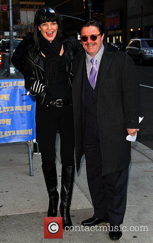 Pauley Perrette and Nathan Lane 3