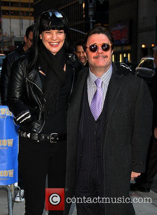 Pauley Perrette and Nathan Lane 4