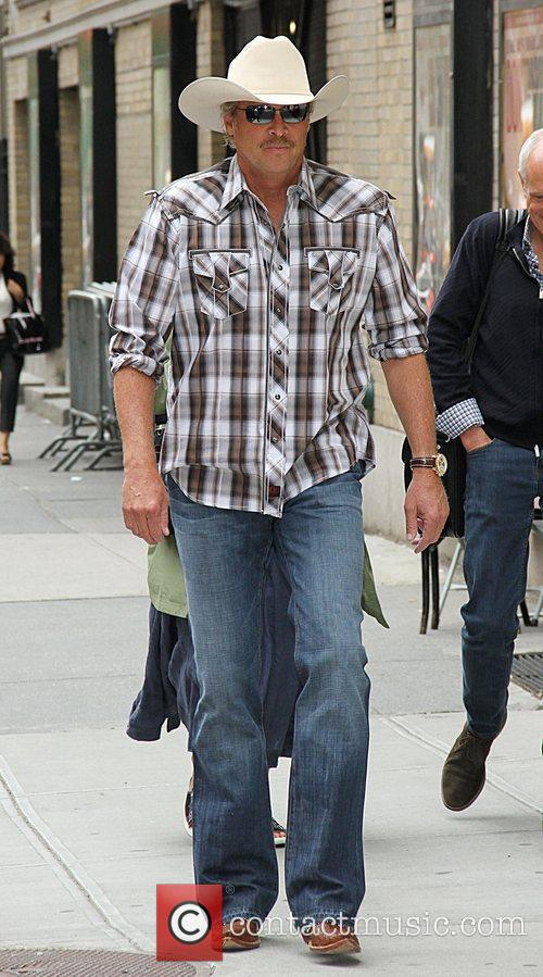 alan jackson celebrities arriving at the ed 5859327