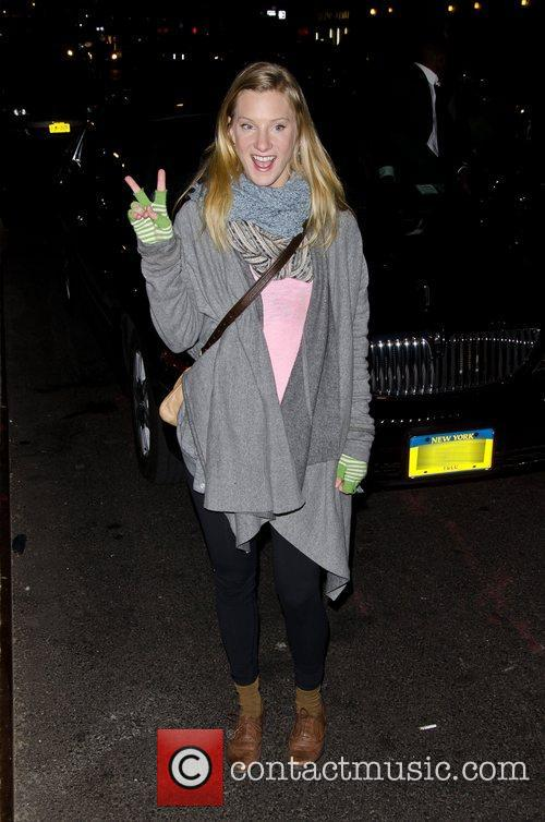 heather morris the late show with david 3676130