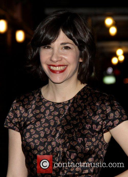 Carrie Brownstein 'The Late Show with David Letterman'...