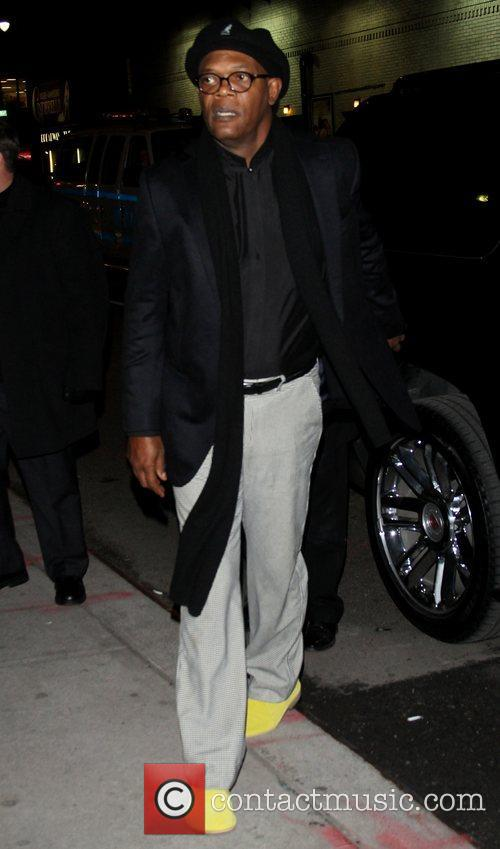 Samuel L. Jackson  'The Late Show with...