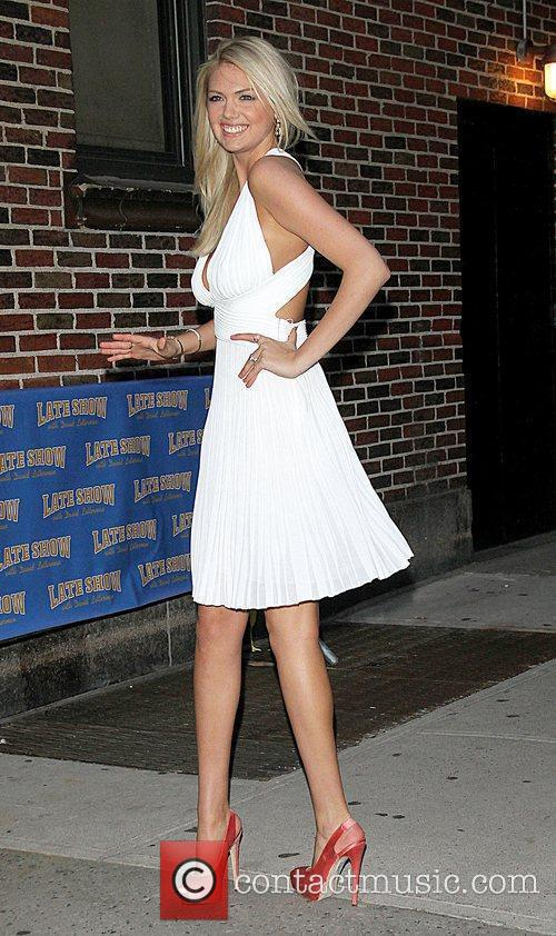 Kate Upton, Ed Sullivan and The Late Show With David Letterman 3