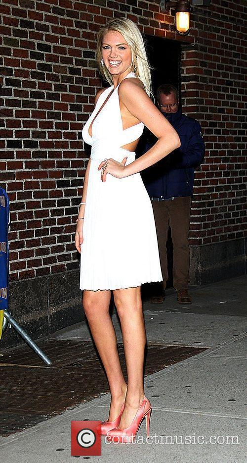 Kate Upton, Ed Sullivan and The Late Show With David Letterman 5
