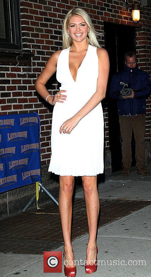 Kate Upton, Ed Sullivan and The Late Show With David Letterman 7