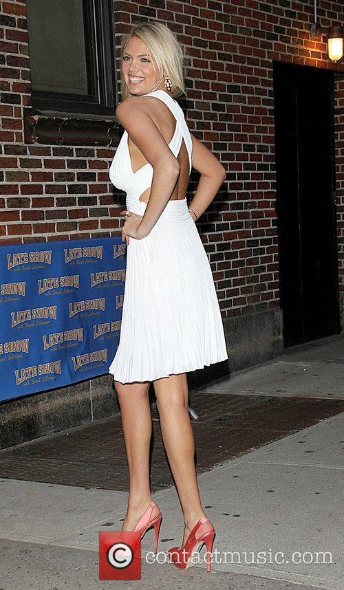Kate Upton, Ed Sullivan and The Late Show With David Letterman 11
