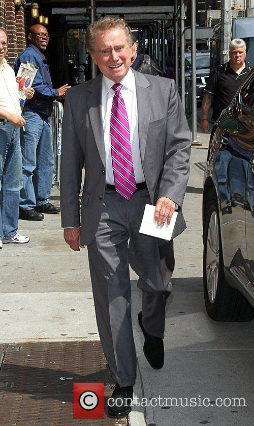 Arrives at The Ed Sullivan Theater for 'The...