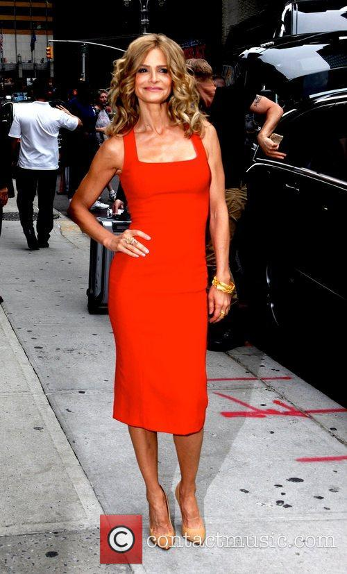 kyra sedgwick the late show with david 5880896