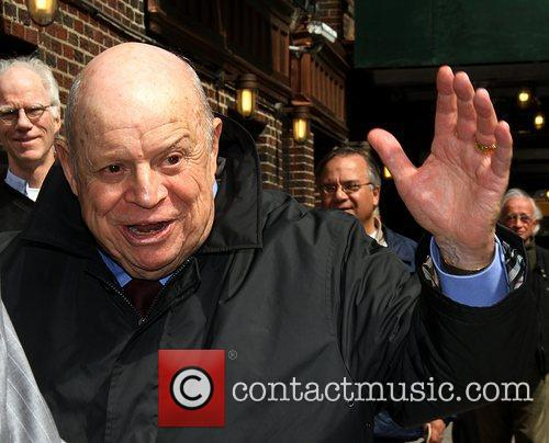 Don Rickles Celebrities arrive at The Ed Sullivan...