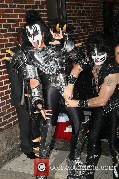 Gene Simmons and Eric Singer of Kiss 'The...