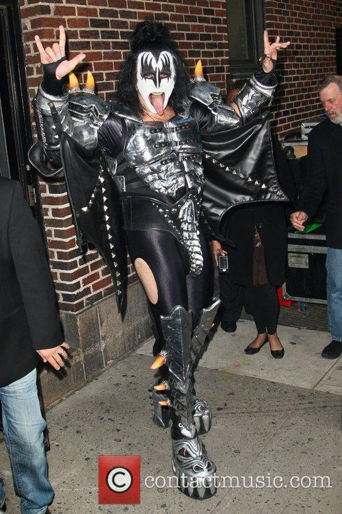 Gene Simmons, Kiss and Ed Sullivan Theatre 4