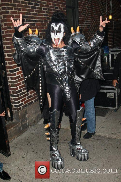 Gene Simmons, Kiss and Ed Sullivan Theatre 5