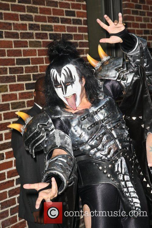 Gene Simmons, Kiss and Ed Sullivan Theatre 9
