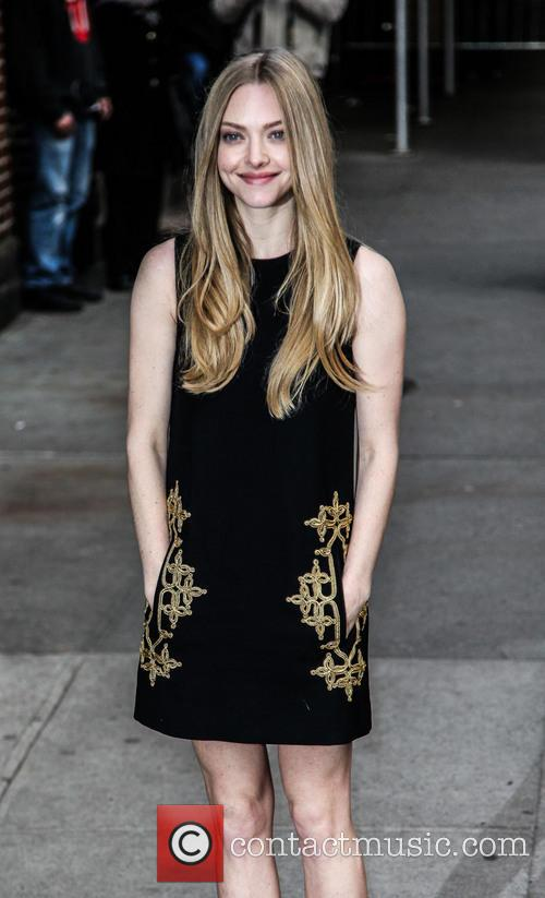 Amanda Seyfried, Ed Sullivan Theatre and The Late Show With David Letterman 4