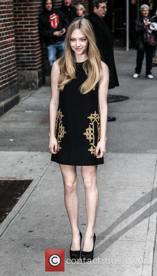 Amanda Seyfried, Ed Sullivan Theatre and The Late Show With David Letterman 2