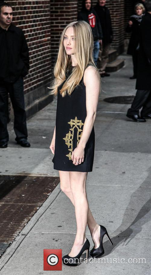 Amanda Seyfried, Ed Sullivan Theatre and The Late Show With David Letterman 3