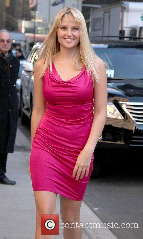 Genevieve Morton 'The Late Show with David Letterman'...