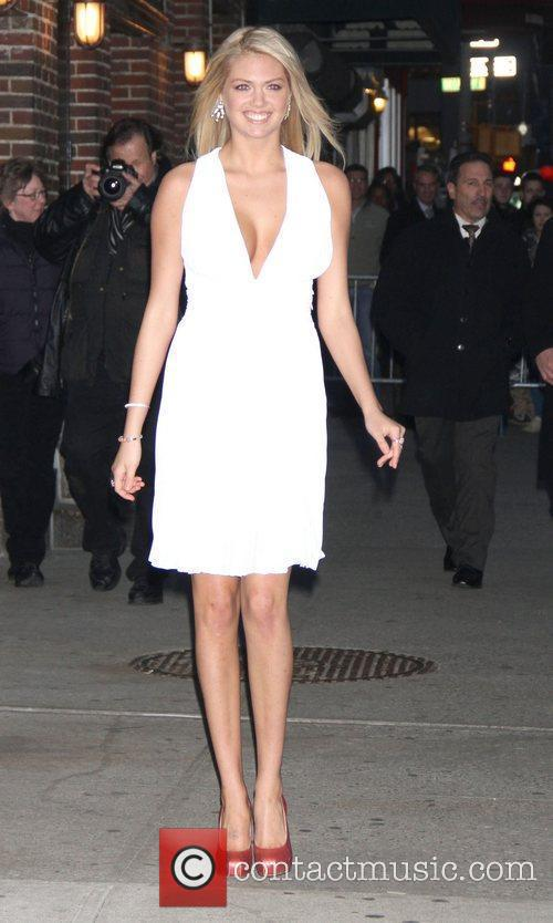 Kate Upton 'The Late Show with David Letterman'...