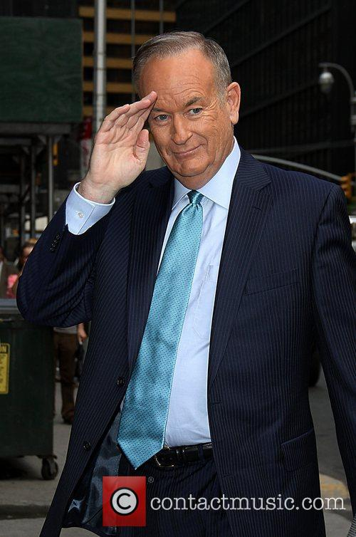 Bill O'Reily 'The Late Show with David Letterman'...