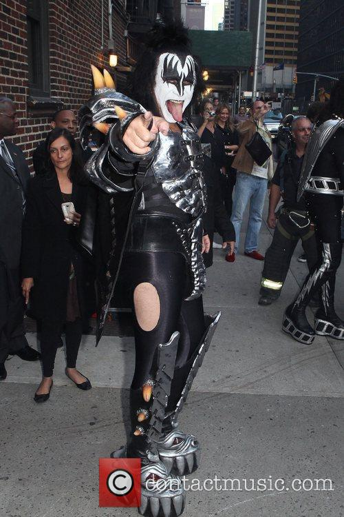 Gene Simmons, Kiss and Ed Sullivan Theatre 6