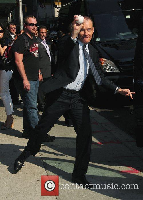 Bryan Cranston  'The Late Show with David...