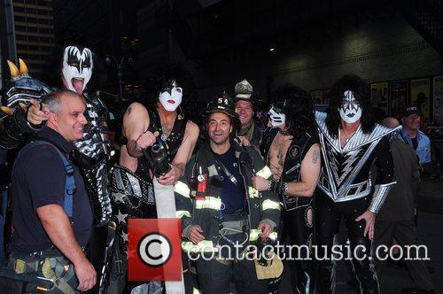 Kiss and Ed Sullivan Theatre 12