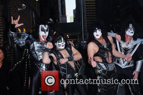 Kiss and Ed Sullivan Theatre 10