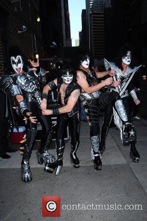 Kiss and Ed Sullivan Theatre 1