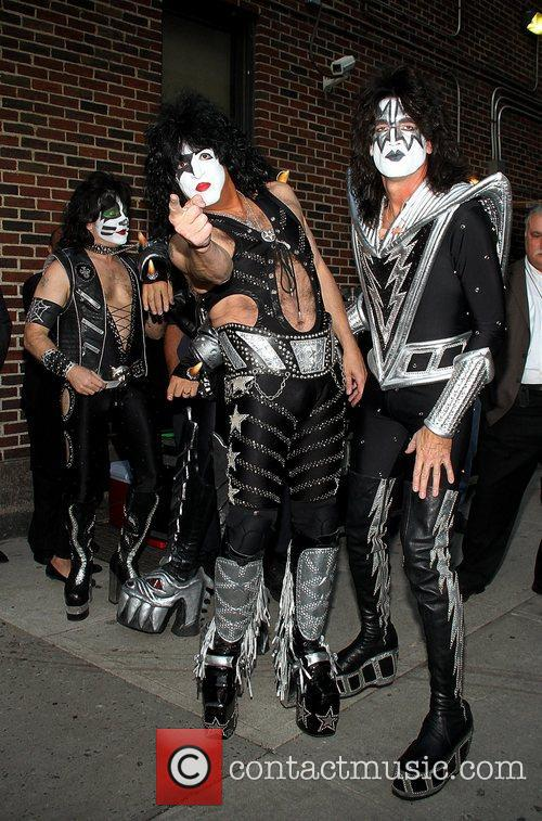 Kiss and Ed Sullivan Theatre 8