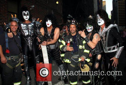 Kiss and Ed Sullivan Theatre 11