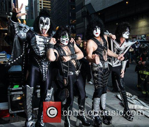 Kiss and Ed Sullivan Theatre 2