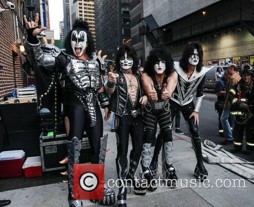 Kiss and Ed Sullivan Theatre 4