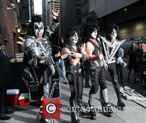 Kiss and Ed Sullivan Theatre 6